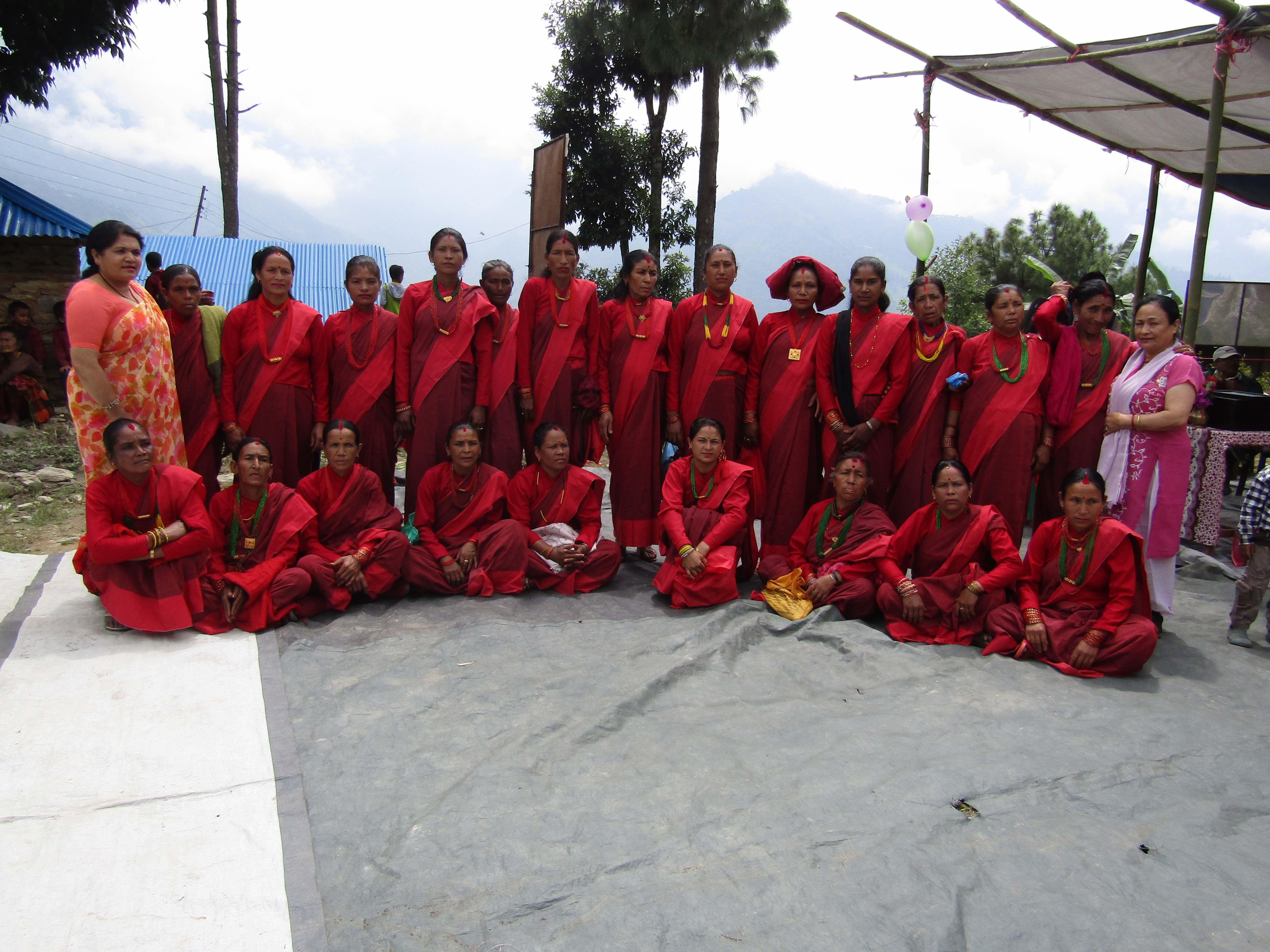 Fulbar Women's Group, Sept. 2017