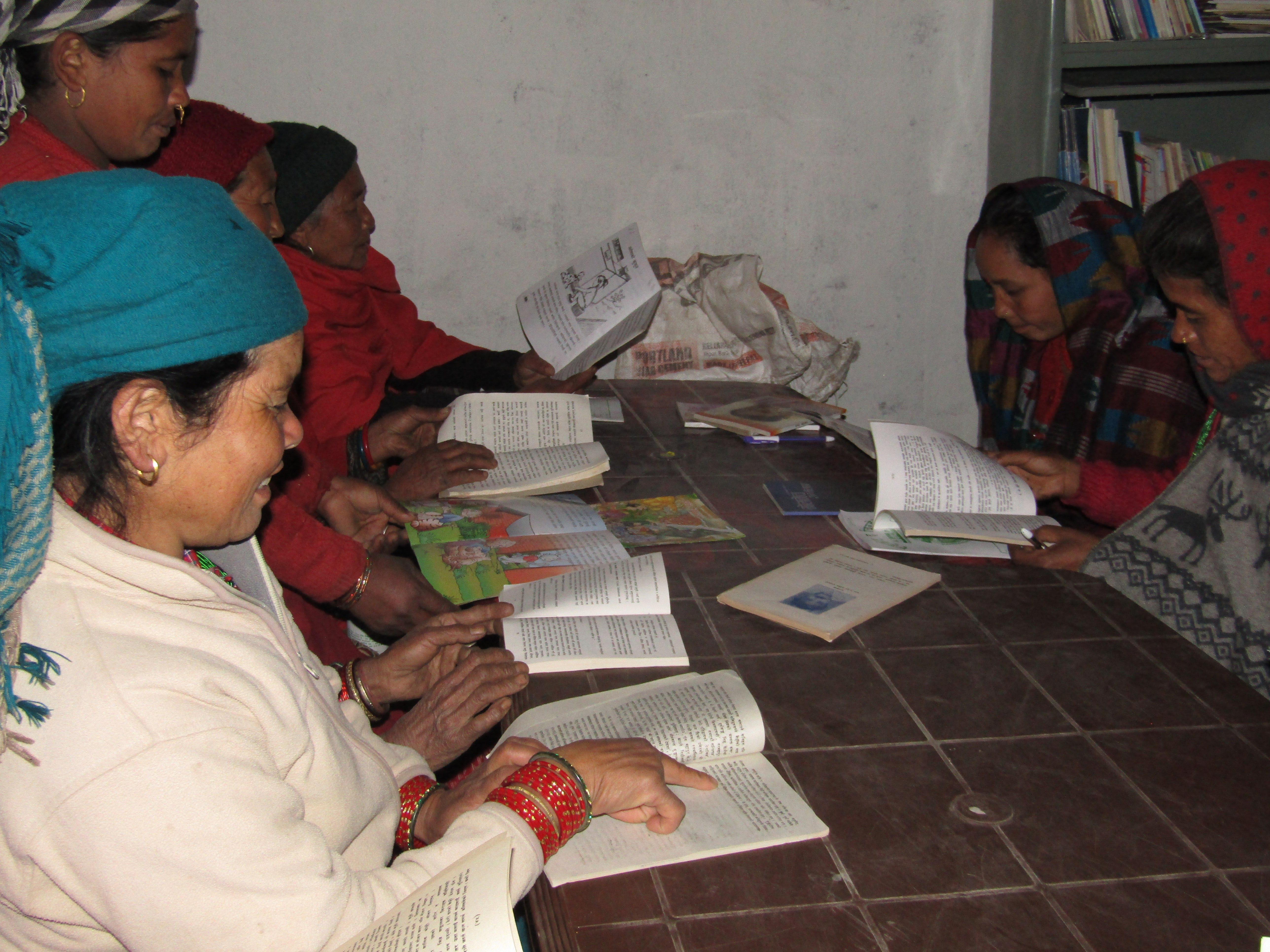 Women's group members love the CLCs